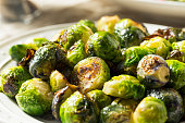 Healthy Roasted Brussel Sprouts for Thanksgiving Dinner