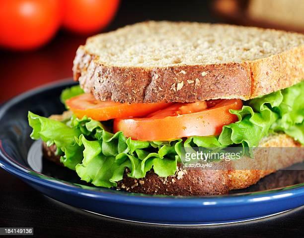 Gesunde sandwich