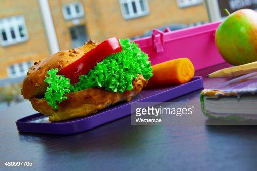 Healthy sandwich : Stock Photo