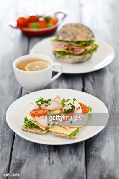 Gesunde sandwiches