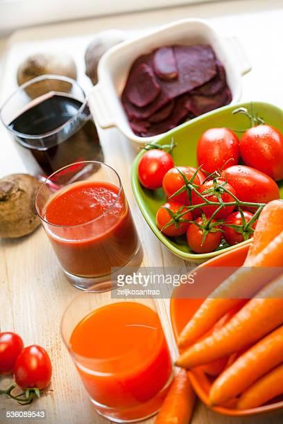 Healthy vegetable drink