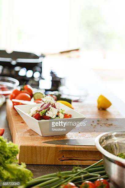 Sain Salade de légumes
