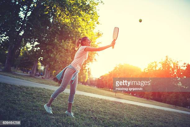 Healthy woman and outdoor activity