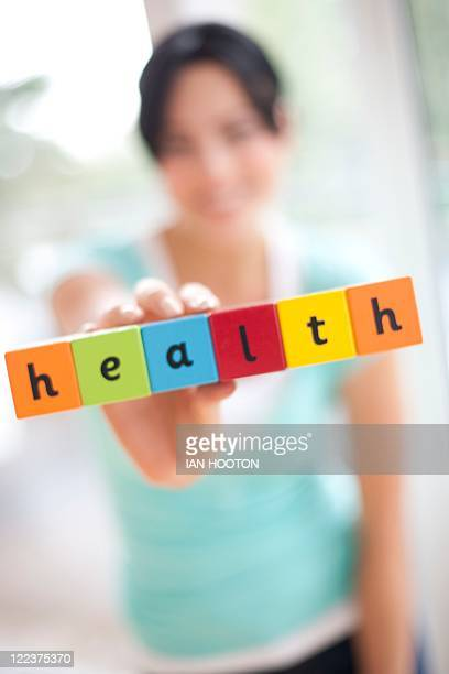 Healthy young woman, conceptual image