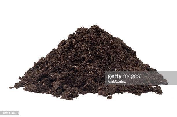 Haufen von Kompost
