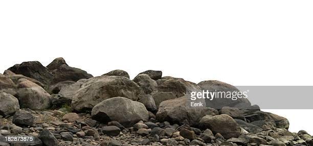 Heap de pedra escuro