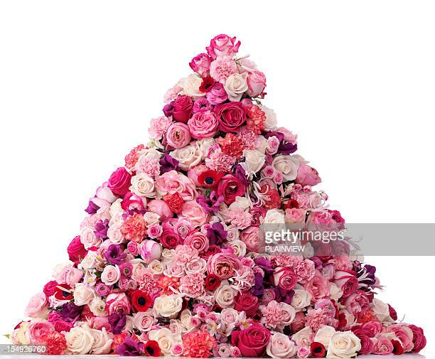 Heap of flowers