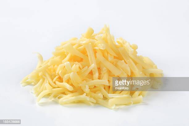 Heap of grated cheese