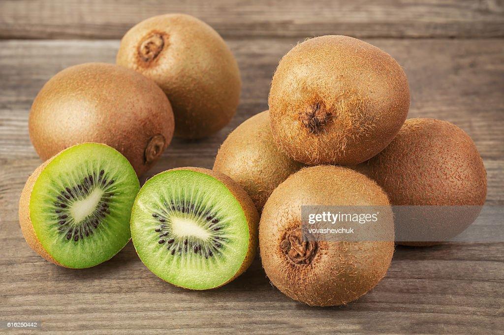 heap of kiwi : Stock Photo