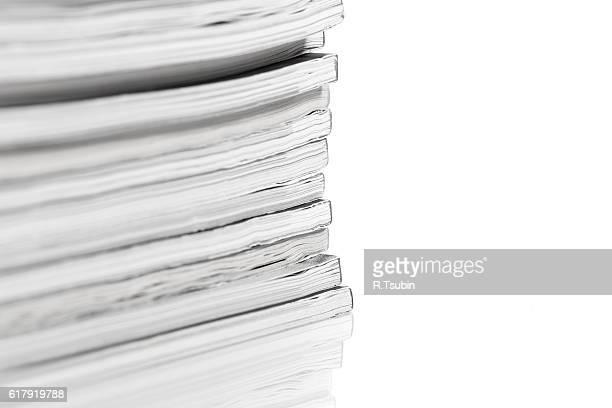 Heap of magazines