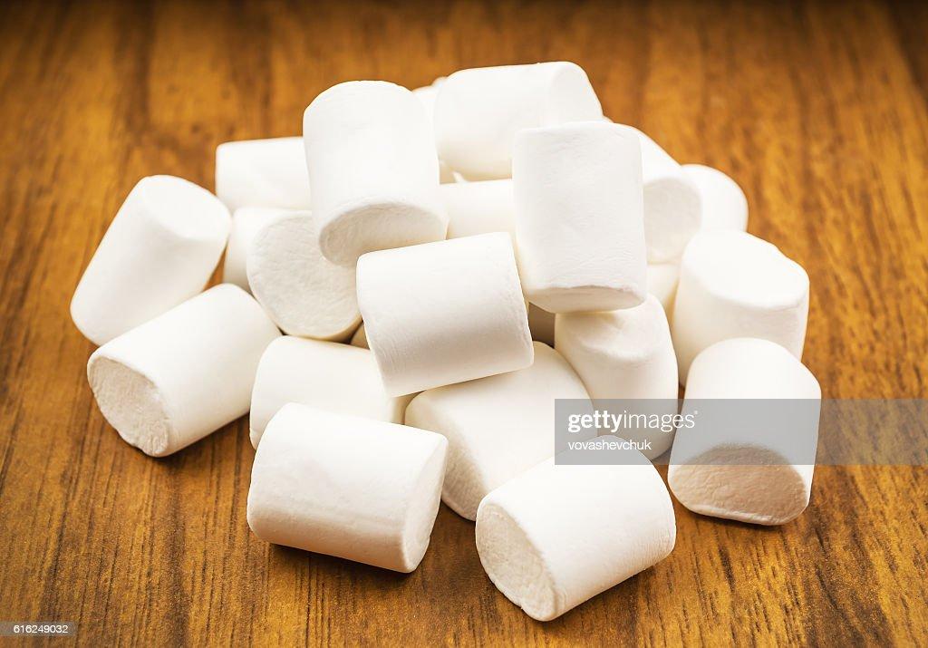 heap of marshmallow : Stock Photo