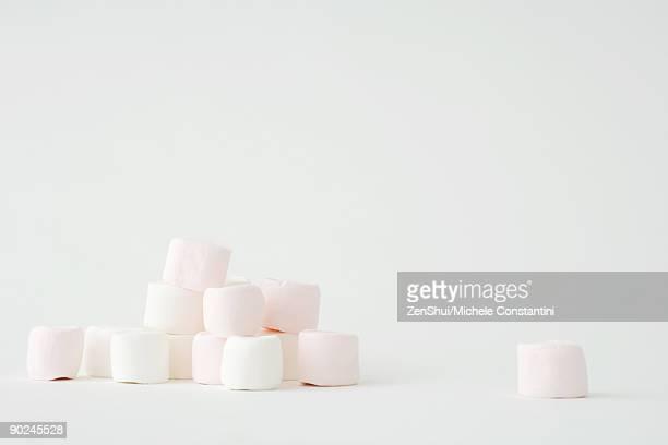 Heap of marshmallows