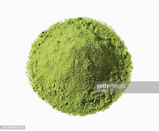 Heap of Matcha (Japanese powdered green tea)