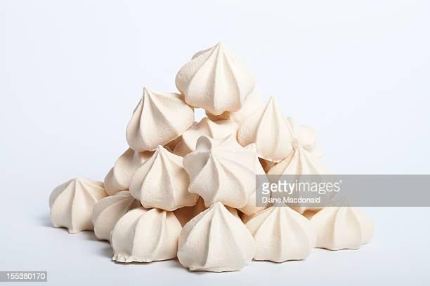 A heap of meringues