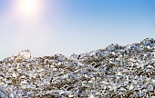 Heap of Metal Recycling Scarp