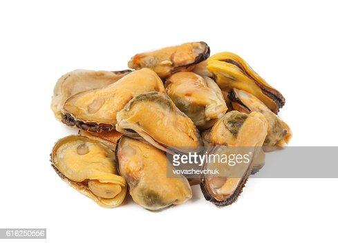 heap of mussels : Foto de stock