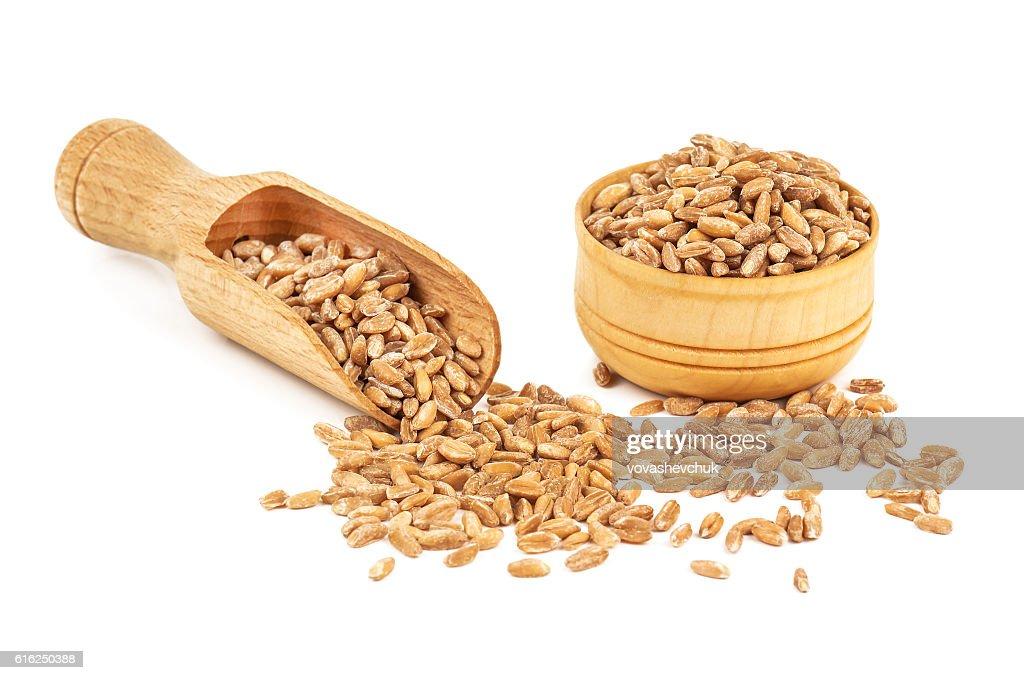 Haufen von Reife Weizen : Stock-Foto