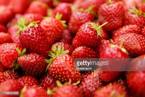 Heap of Strawberries : Stock Photo