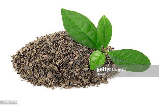 Heap of tea leaves