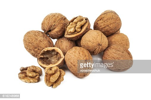 heap of walnut : Foto de stock