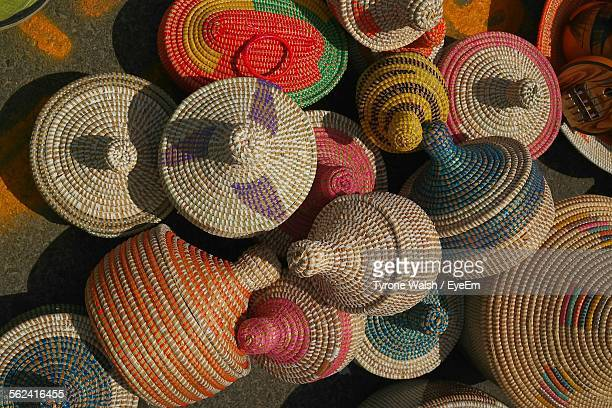 Heap Of Wicker Baskets