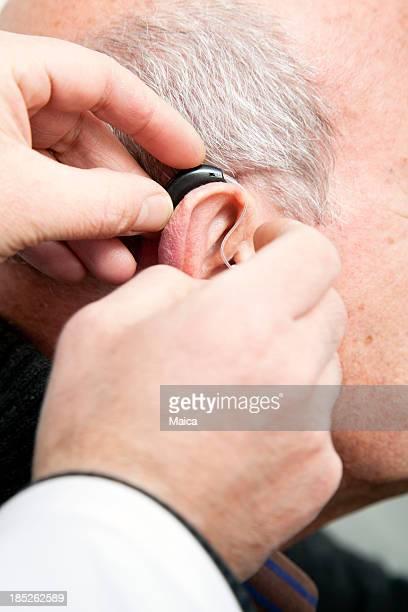 Hearing aid.