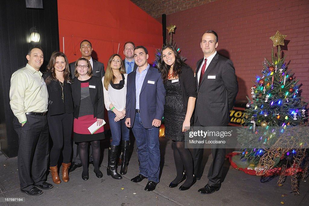 Hearing Health Foundation National Junior Board Members attend the Hearing Health Foundation's Junior Board Holiday Fundraiser at Ashton's Alley on December 4, 2012 in New York City.