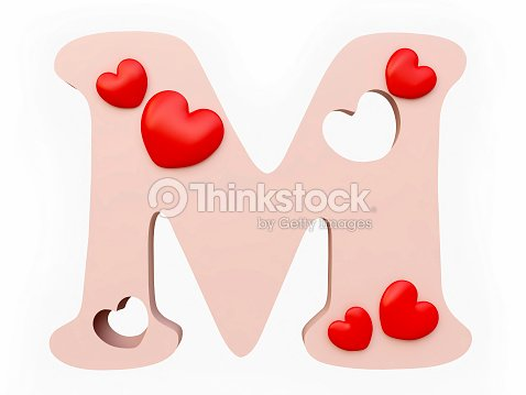 Heart alphabet letter m stock photo thinkstock heart alphabet letter m stock photo thecheapjerseys Gallery