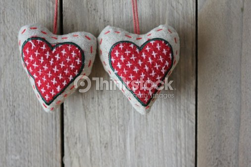 Heart as symbol love : Stock Photo