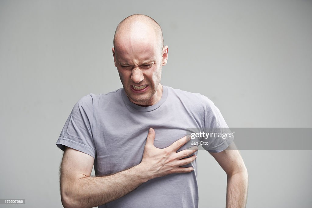 Heart attack : Stock Photo