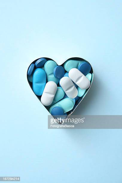 Heart blues pills