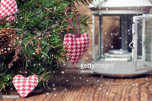 heart branch wood : Stock Photo