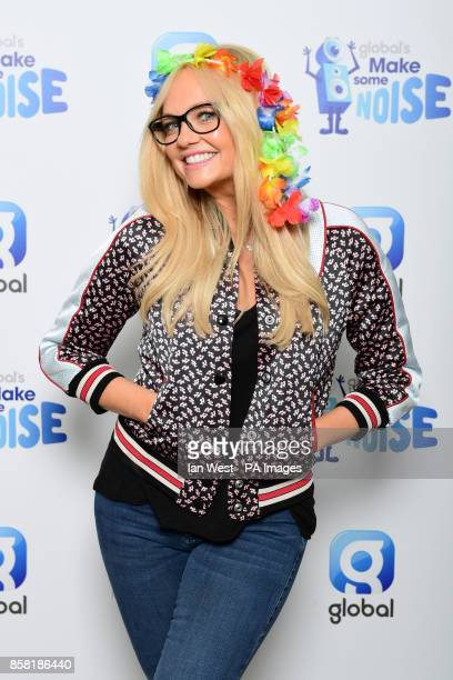 Heart Breakfast presenter Emma Bunton during Global's Make Some Noise Day 2017 held at Global 30 Leicester Square London The event unites all of...