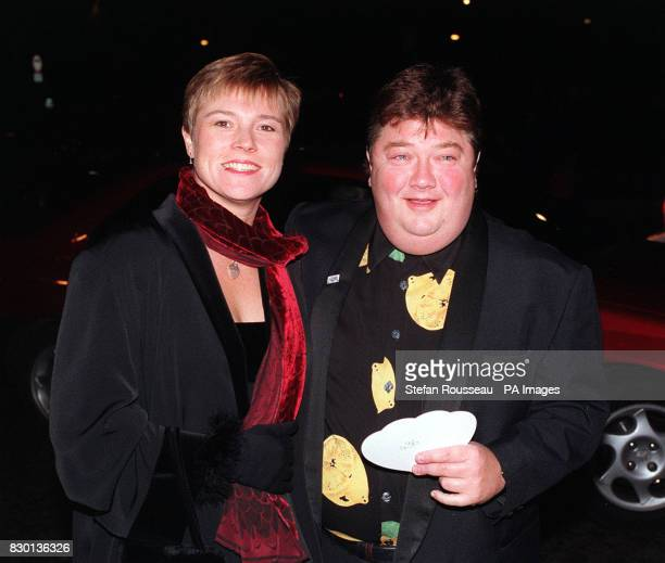 Heart Fm Disc Jockey Jono arriving at a Valentine's Ball at the Hilton Hotel in London to raise money for the Rhys Daniels Trust Rhys died from the...
