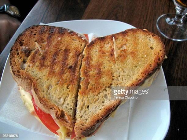 Heart Grilled Sandwich