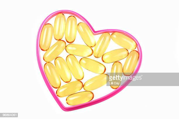 Heart Healthy Omega-3 Vitamins