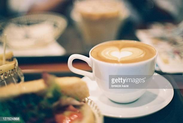 Heart latte