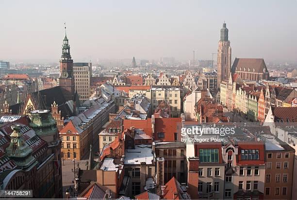 Heart of city