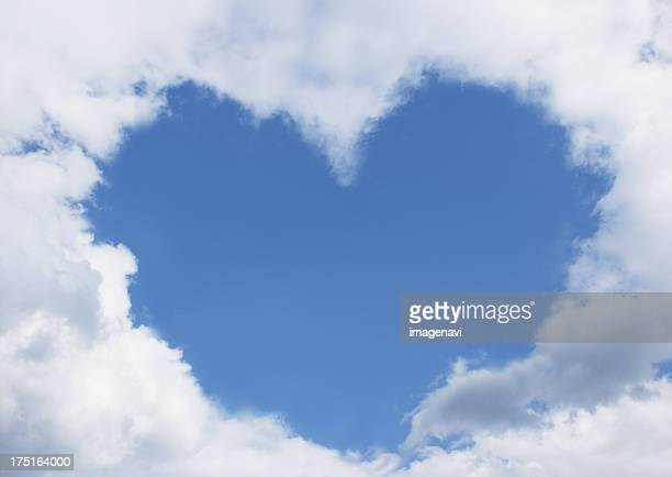 Heart of clouds