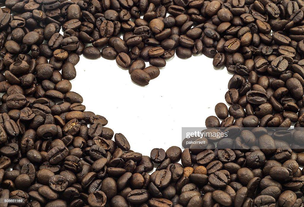 Heart of Coffee : Stock Photo