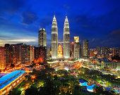 Heart of Kuala Lumpur, The Petronas Twin Towers