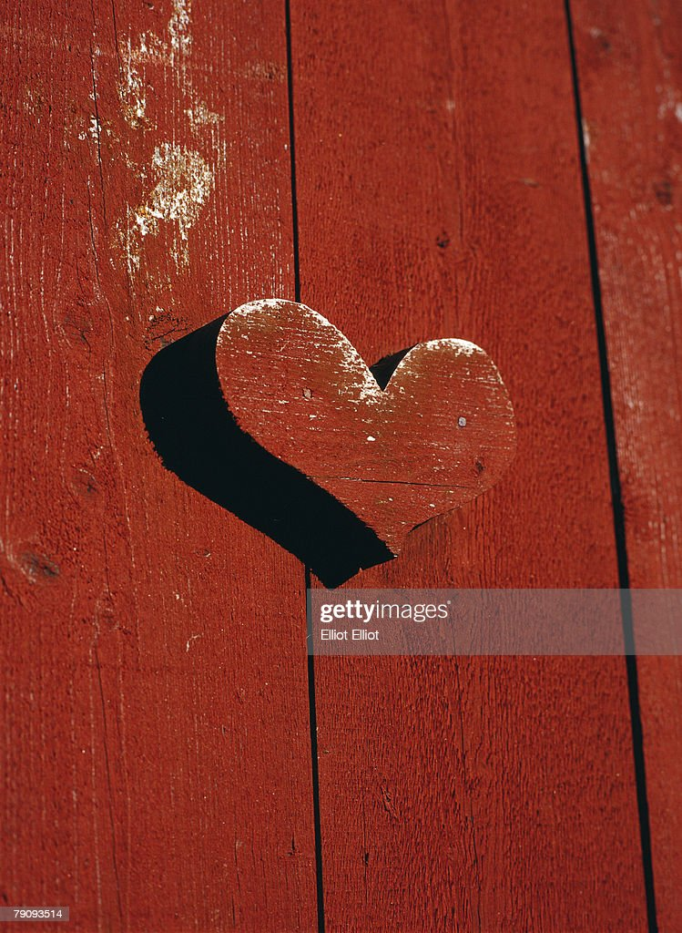 A heart on an outhouse door. & Outhouse Doors Stock Photos and Pictures | Getty Images Pezcame.Com