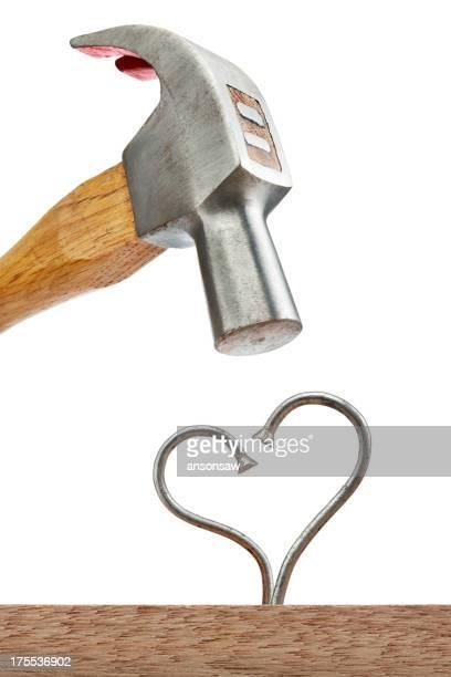 Coeur des ongles