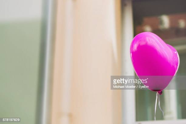 Heart Shape Pink Balloon By Building