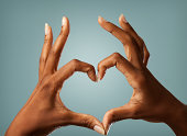 Heart Shape with Hands