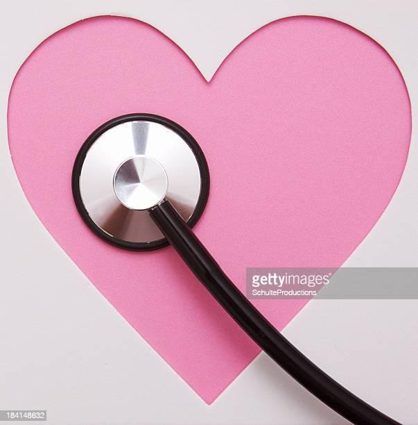 Heart Shape with Stethoscope