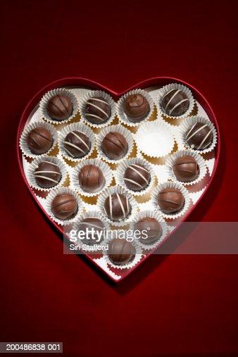 Heart Shaped Box Of Chocolates Uk