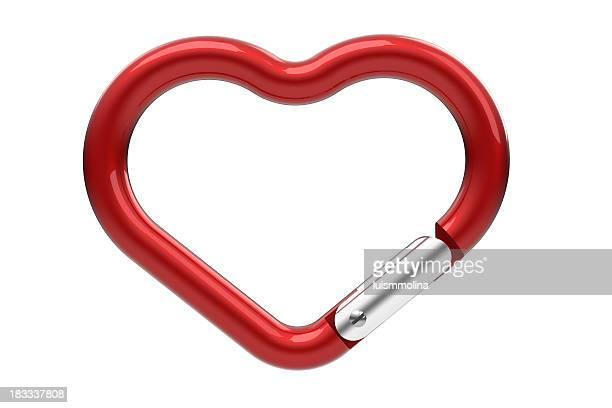 Herzförmiger Karabinerhaken