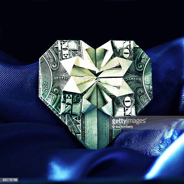 Heart Shaped Dollar Bill