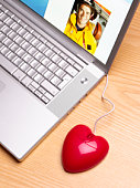 Heart shaped mouse internet dating with fireman